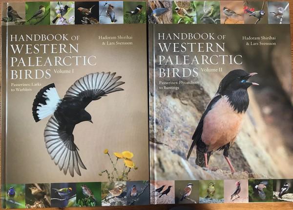 TÄNÄÄN SAIN POSTISSA HANDBOOK OF THE BIRDS OF WESTERN PALEARTIC-KIRJASARJAN 2 EKA VOLYYMIÄ - HIENOA! SAINKIN KIRJAT ILMAISEKSI, KOSKA NIISSÄ ON MYÖS MEIKÄLÄISEN OTTAMIA LINTUKUVIA (11 kpl)