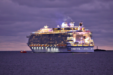 Maailman suurin laiva 2015